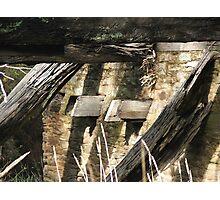 Bridge Remains Photographic Print