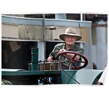 Tractor Driver Poster