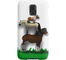 Horse stack Samsung Galaxy Case/Skin