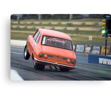 Mazda RX-2 Drag Car Canvas Print