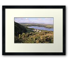 Thatched Cottages Corofin Co Clare Ireland Framed Print