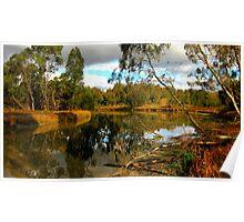 River Heritage & Wetlands Reserve Poster