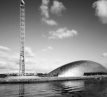 Glasgow In Mono by Samantha  Nicol