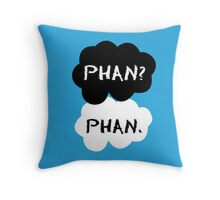 Phan - TFIOS Throw Pillow