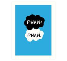Phan - TFIOS Art Print