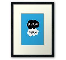 Phan - TFIOS Framed Print
