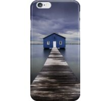 The Blue Boatshed iPhone Case/Skin