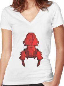 Mantis Cruiser Women's Fitted V-Neck T-Shirt