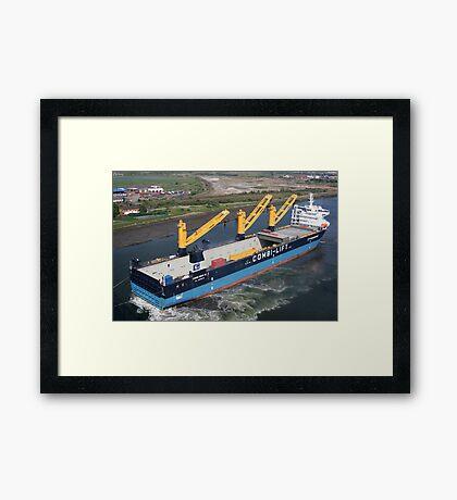 Combi Dock IV  Framed Print
