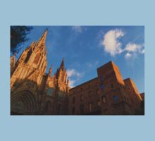 Warm Glow Cathedral - Impressions Of Barcelona Kids Clothes