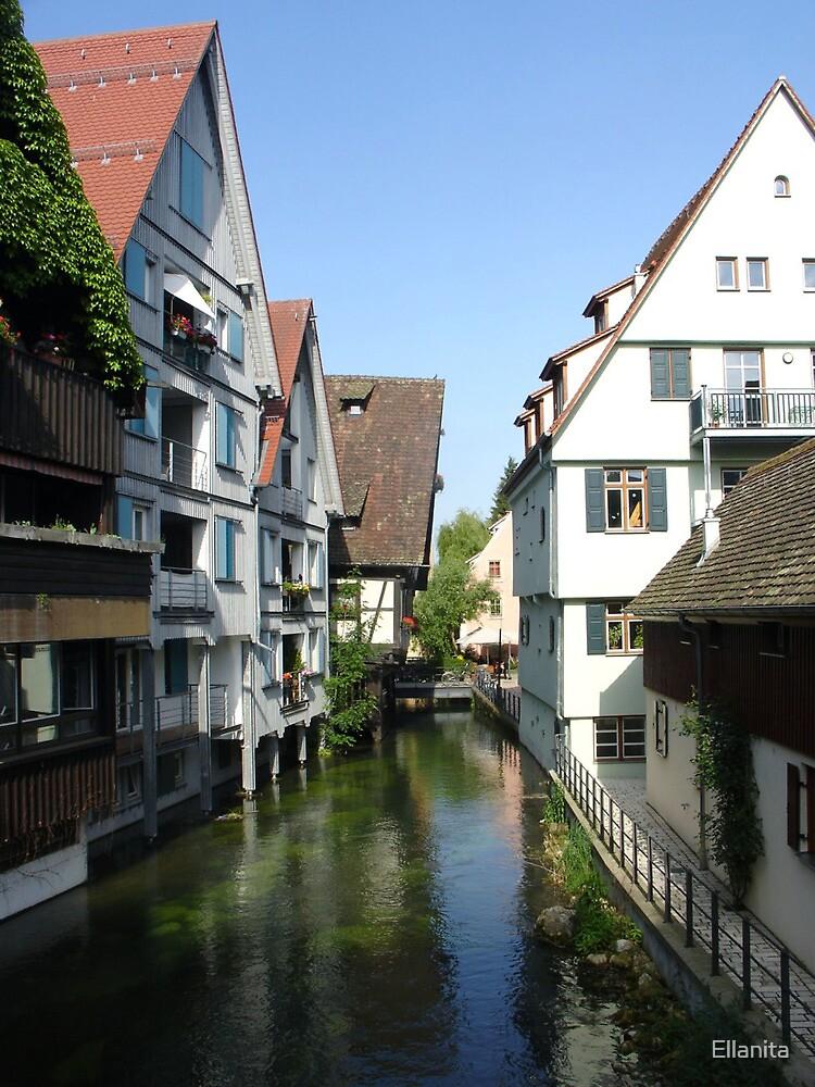 Ulm Little Fishermans Town by Ellanita