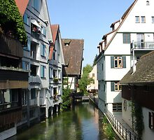 Ulm Little Fishermans Town by Ellanita