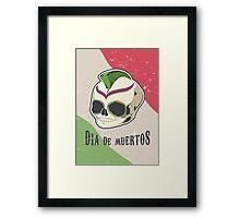 Dia De Muertos / Day Of The Dead Framed Print