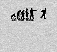 Man vs Zombie Evolution Unisex T-Shirt