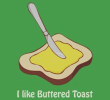 Buttered Toast by SeanE