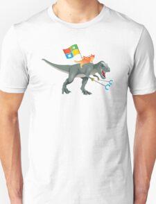 Ninjacat T-Rex Unisex T-Shirt