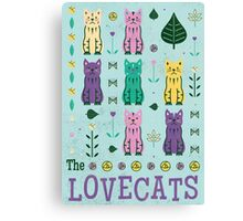 The Lovecats Canvas Print