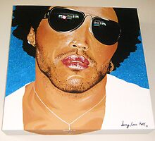 lenny kravitz by Kate  Chappell