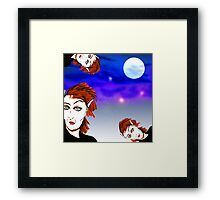 When the mice are away... Framed Print