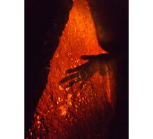 Witch - Druids Cave, Birchover Photographic Print