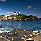 Nubble Light by Kathy Weaver