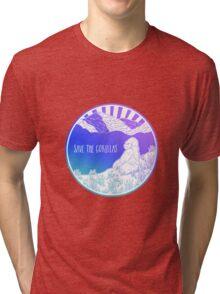 Save the Gorillas! Tri-blend T-Shirt