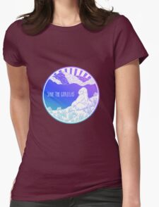 Save the Gorillas! Womens Fitted T-Shirt