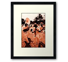 Rag Time - Go Karting track, Biot, France Framed Print