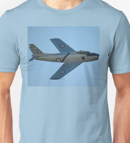The Sabre Is Back -2, Temora Airshow 2009 Unisex T-Shirt