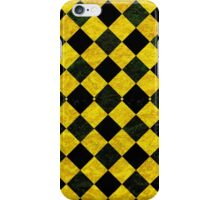 Chequered pattern background iPhone Case/Skin