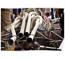 Ferrari F1 car V12 Poster