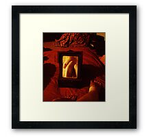 Mirror, Mirror, If I Broke You Would I Lose My Reflection? Framed Print
