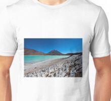 Laguna Verde with Vulcano Licancabur  Unisex T-Shirt