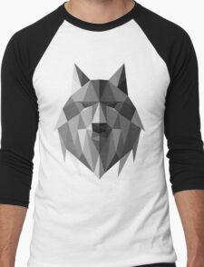 Wolf of The North Men's Baseball ¾ T-Shirt