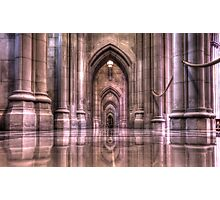 Cathedral Reflections Photographic Print
