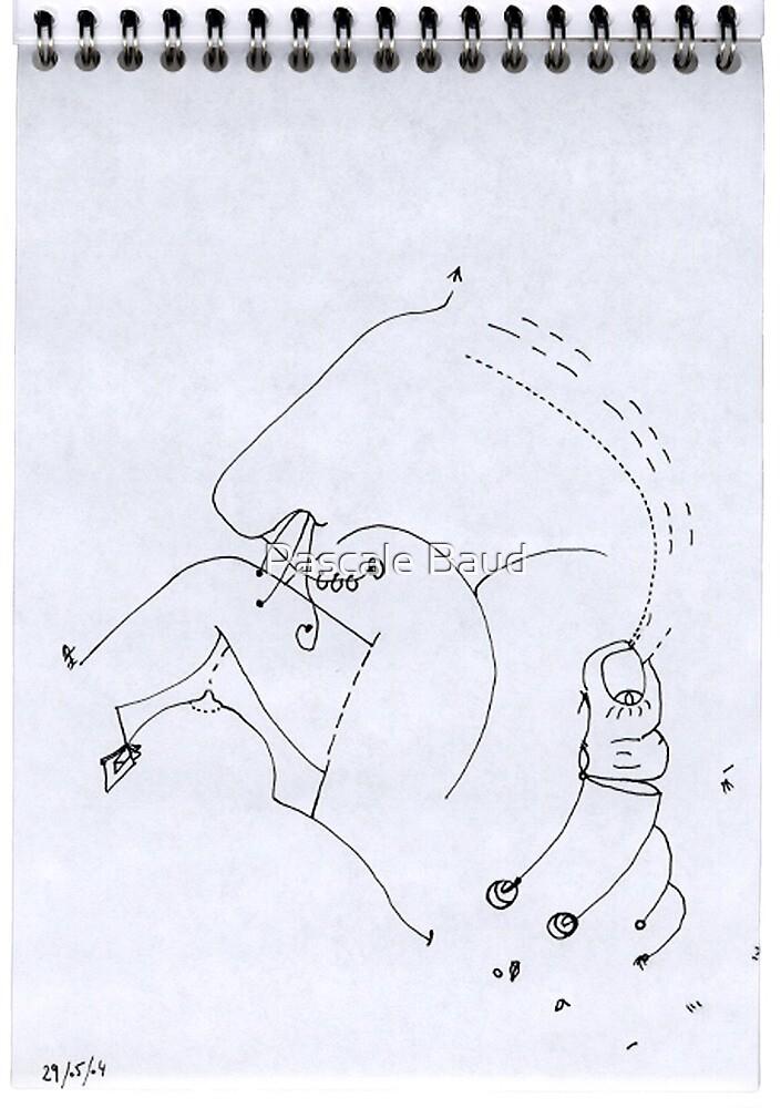 Petits Dessins Debiles - Small Weak Drawings#09 by Pascale Baud