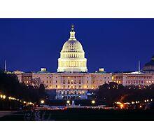 U.S. Capitol Photographic Print