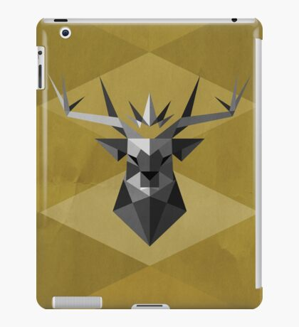 The Crowned Stag iPad Case/Skin