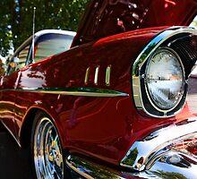 57 Chevy by Raymond Kundra