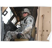 American Soldier, Iraq Poster