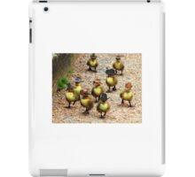 Group of duck wearing cowboy hats 1 iPad Case/Skin