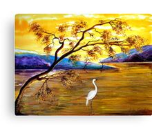 Silence is Golden  Canvas Print