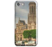 Saint-Germain l'Auxerrois, Paris iPhone Case/Skin
