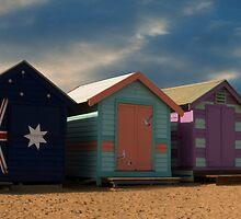 Shadows On The Beach by Matt Jones