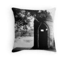 Turret - Newstead Abbey, Nottingham Throw Pillow