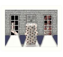 The Mannequin - Right Foot Art Print