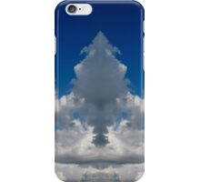 Mirror image clouds panorama iPhone Case/Skin