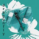Dragonfly Collage by Ruth Palmer