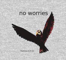 No Worries (Bird Design) Kids Tee