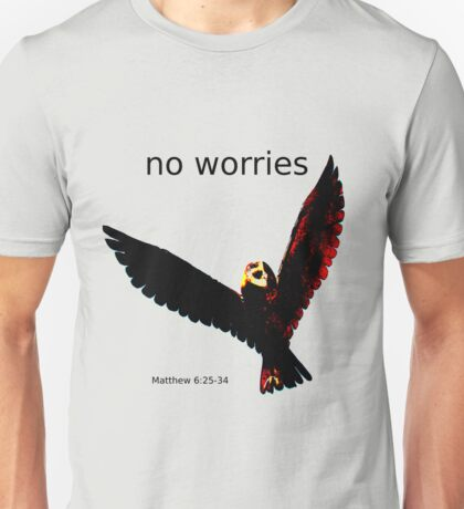 No Worries (Bird Design) T-Shirt